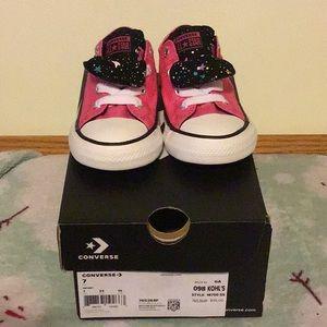 Converse CTAS MADDIE SLIP on sneakers Infant Sz 7